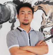 张祺晟--徐派画马艺术